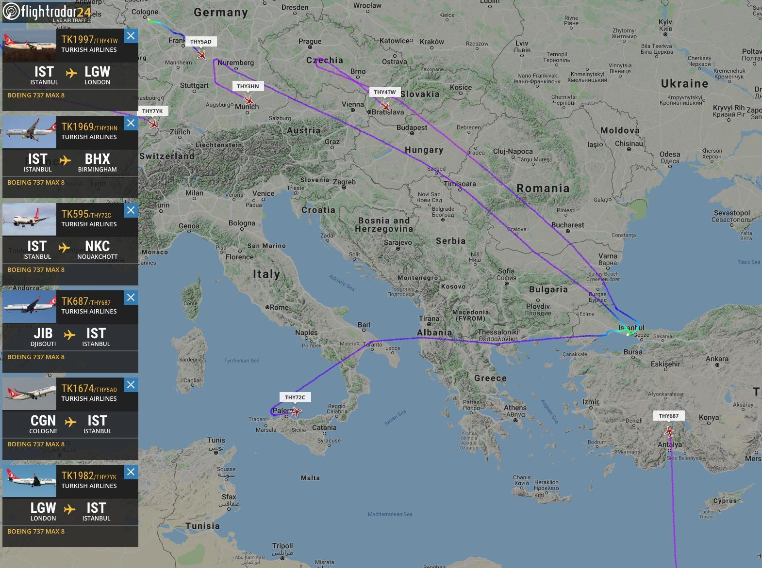 c746baf600085 THY'den Boeing 737 Max kararı - Son Dakika Flaş Haberler