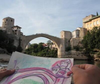 İhtiyar Mostar Köprüsü'nün yeniden doğuşu