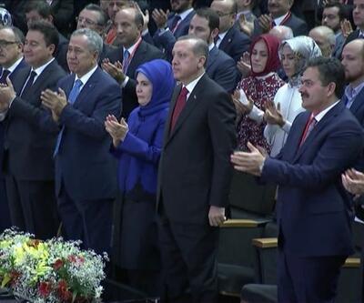 Erdoğan'ın ismi anons edildi Arınç ağladı