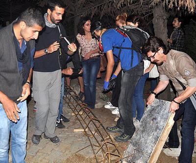 Validebağ Korusu'ndaki beton kalıpları söktüler!