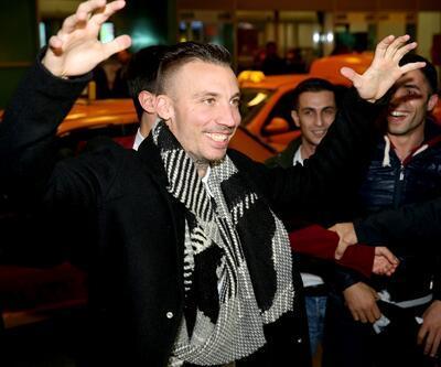 Beşiktaş'ın yeni transferi Alexis Delgado İstanbul'a geldi