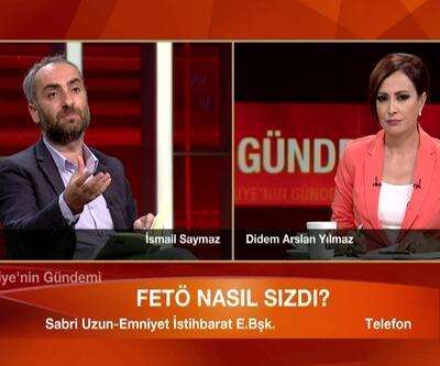 İsmail Saymaz ile Sabri Uzun arasında Fethullah Gülen tartışması