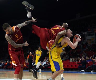 Galatasaray'dan Maccabi'ye tarihi fark