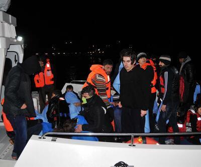 Ege'de mülteci botu alabora oldu: 1 ölü