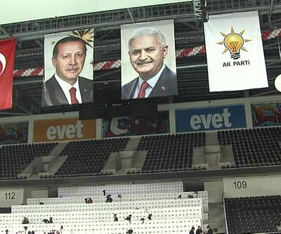 AK Parti referandum startını yarın bu salondan verecek