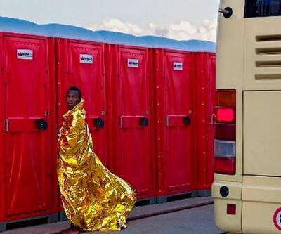 Alman fotoğrafçı mülteci dramının bilinmeyen yüzünü görüntüledi
