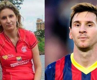 Hık demiş Messi'nin burnundan düşmüş