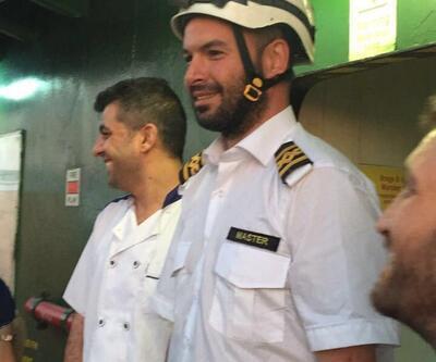 466 mülteciyi kurtaran Türk kaptan konuştu