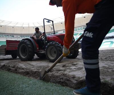 Bursaspor'un sahası değişiyor