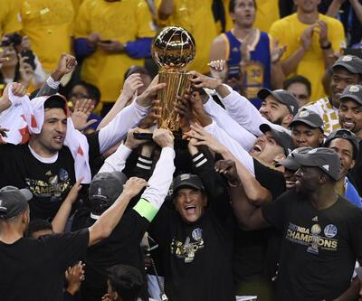 Golden State Warriors, NBA şampiyonu oldu