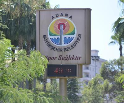 Adana'da termometreler 49 dereceyi gösterdi