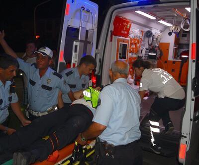 Dur ihtarına uymadı, polise çarptı