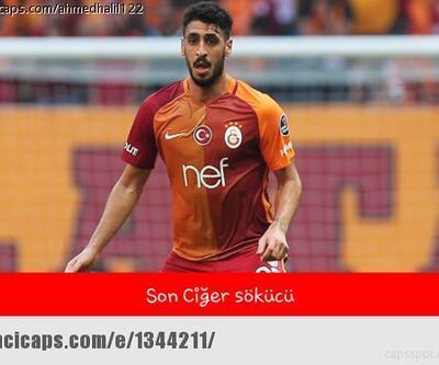Galatasaray-Sivasspor maçı capsleri / Son ciğer sökücü