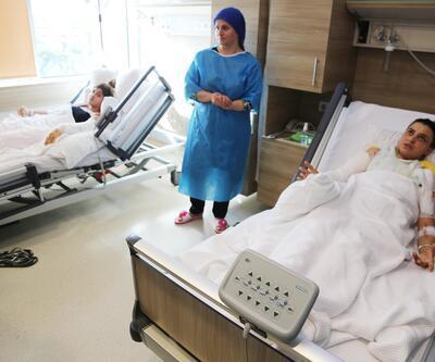Jel yakıt anne- kızı hastanelik etti