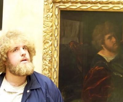 Yüzlerce yıllık tabloda kendini görünce gözlerine inanamadı