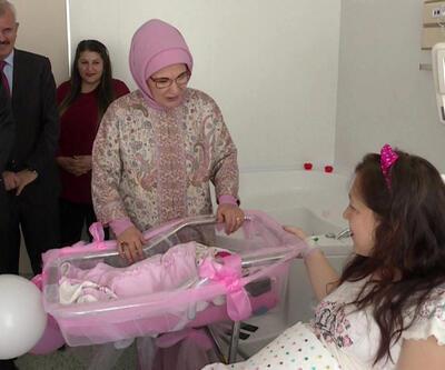 Emine Erdoğan 'Suda Doğum Merkezi'ni açtı