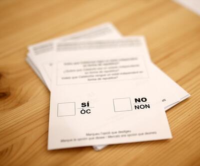 Katalonya referandumda ilk sonuçlar açıklandı