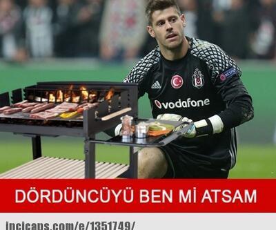 Beşiktaş-Galatasaray derbisi capsleri