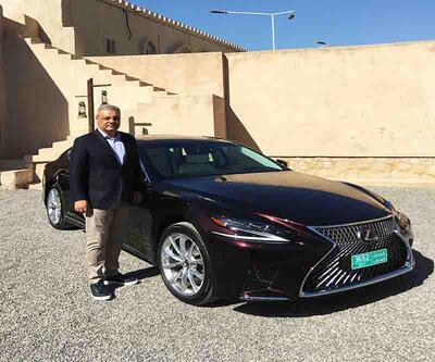 Lexus'u LS değişti, 235 bin eurodan geldi