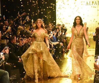 İzmir'de güzeller geçidi.... Victoria's Secret meleği de oradaydı