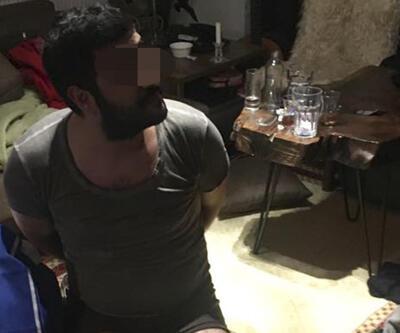 Uyuşturucu bağımlısı çete elebaşı rezidansta yakalandı