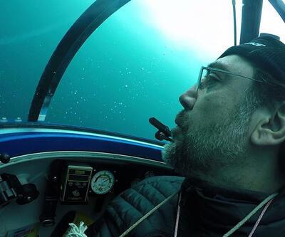 Javier Bardem, Greenpeace için Antarktika Okyanusu'nun en dibine indi