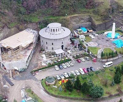 Trabzon'da tartışılan inşaat yeniden başlıyor