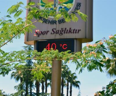 Adana'da sıcaklık 40 dereceyi buldu