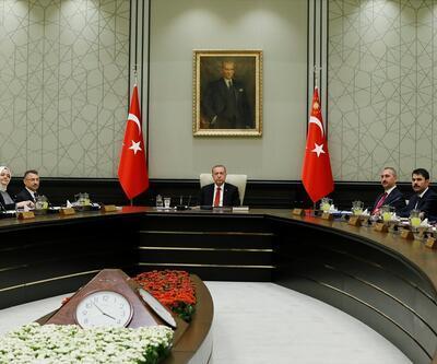 Cumhurbaşkanlığı Kabine Toplantısı'ndan ilk kareler