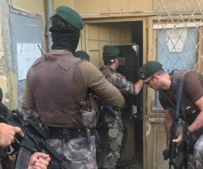 Kadıköy'de polis operasyonu