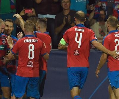 Viktoria Plzen 2-2 CSKA Moskova   Viktoria Plzen CSKA Moskova maç özeti