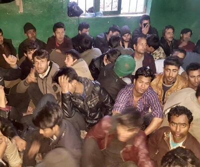 250 göçmeni eve hapsetmişler