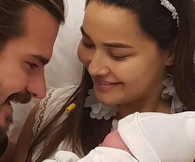 Gizem - Hakan Hatipoğlu çiftinin bebekleriyle ilk pozu!