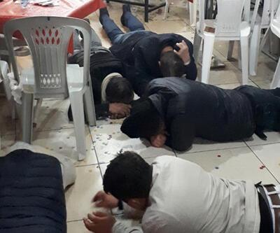 Ankara'da kumar operasyonu! Kaçmak için birbirlerini ezdiler