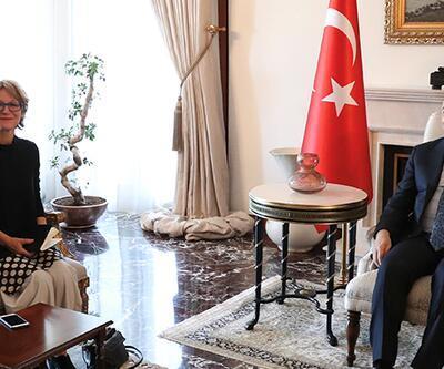 Dışişleri Bakanı Çavuşoğlu, BM raportörü Callamard ile görüştü