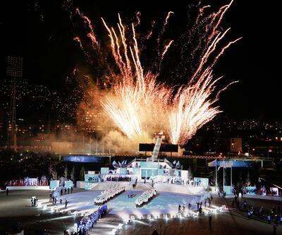 2019 Avrupa Gençlik Olimpik Kış Festivali'ne görkemli açılış