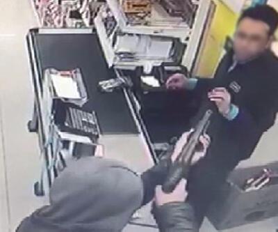 Marketten pompalı tüfekle soygun şüphelisi tutuklandı