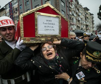 Şehit Pilot Yüzbaşı Özerli gözyaşlarıyla uğurlandı