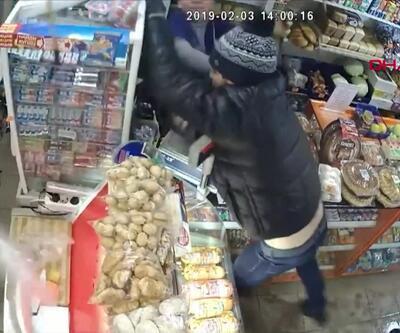 Hırsız kendisini yakalayan kişiyi dövdü