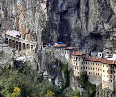 Sümela Manastırı'nın ilk bölümü ziyarete açılıyor