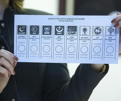 Son dakika... İşte 31 Mart'ta kullanılacak oy pusulası