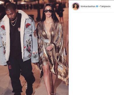 Kim Kardashian'ın görüntüsü şaşkına uğrattı