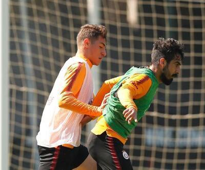 Galatasaray kupa maçı hazırlıklarına devam etti
