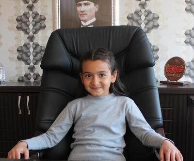 Alaşehir'de Kaymakamlık koltuğuna küçük Eylül oturdu