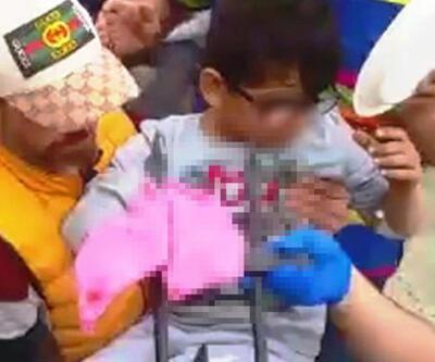 Muğla'da korkunç olay: 10 yaşındaki çocuğun eline demir korkuluk saplandı