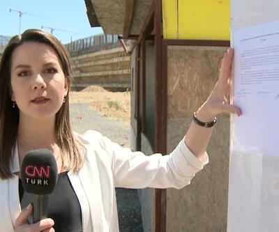 Kağıthane ve Fikirtepe'de tehlikeli inşaatlara tutanak asıldı