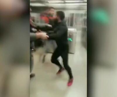 İspanya'da metroyu birbirine kattı