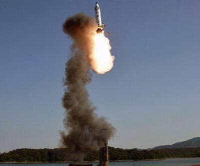 Kuzey Kore füzeleri peş peşe ateşledi