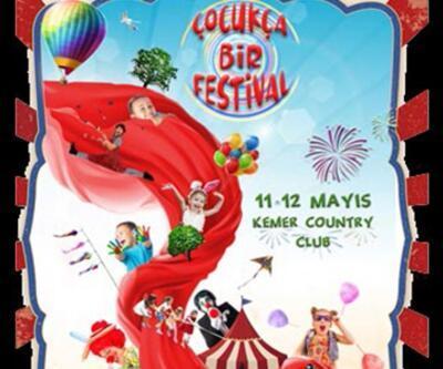 Bu festivalde çocuklar eğlenirken öğrenecek