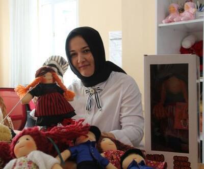 Rizeli girişimci kadınlar bez bebek üretip, satıyor
